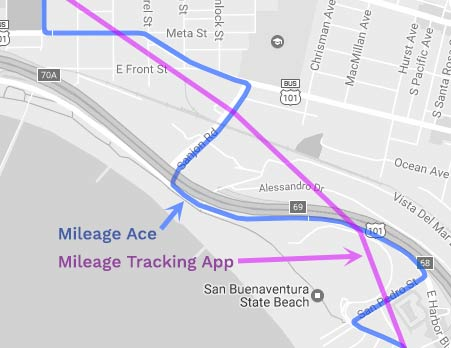 mileage ace gps mileage tracker